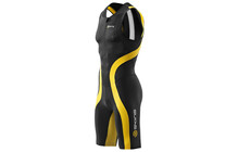 Skins TRI400 Men's Compression Sleeveless Suit black/yellow